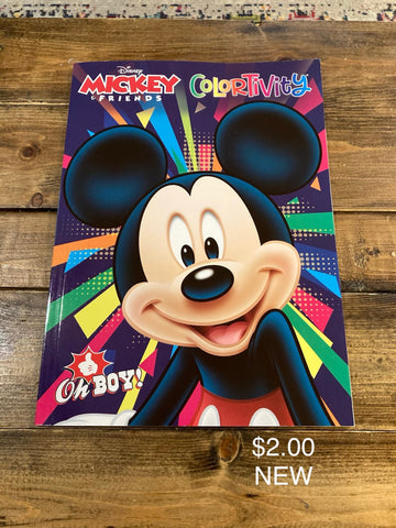 Mickey & Friends Colortivity Coloring Book