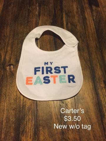 "Carter's ""My First Easter"" Bib"