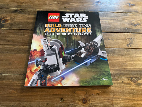 LEGO Star Wars Build Your Own Adventure Battle For The Stolen Crystals