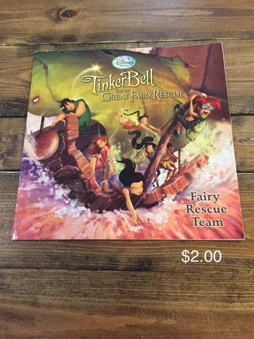 Tinker Bell Great Fairy Rescue - Fairy Rescue Team