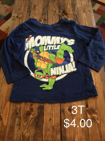 "Nickelodeon ""Mommy's Little Ninja!"" Long Sleeve Shirt"