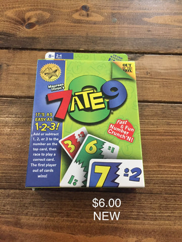 7ATE9 Card Game