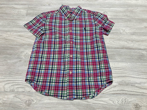 Ralph Lauren Short Sleeve Button Down Shirt