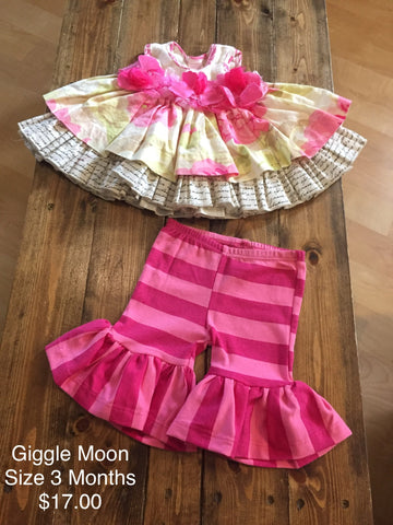 Giggle Moon 2 Piece Outfit