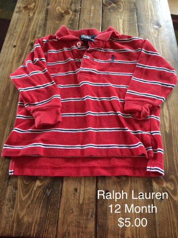 Polo Ralph Lauren Striped Long Sleeve Shirt