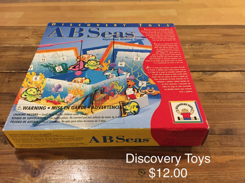 Discovery Toys ABSeas Alphabet Fishing Game