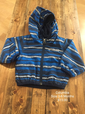 Columbia Light Weight Infant Jacket