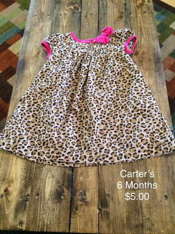 Carter's Leopard Print Dress