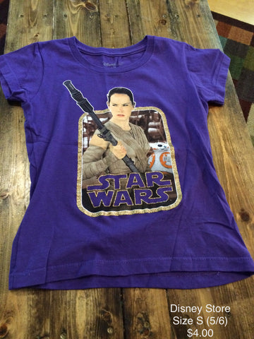Disney Store Star Wars Short Sleeve Shirt