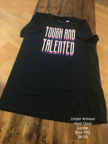 "Under Armour ""Tough and Talented"" Short Sleeve Shirt"
