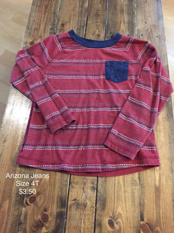 Arizona Jeans Long Sleeve Shirt