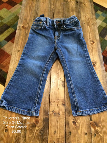 Children's Place Flare Stretch Jeans