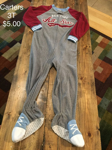 "Carter's ""Bedtime All Star"" Fleece Pajama"