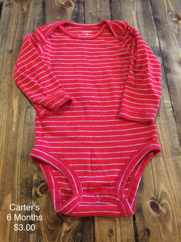 Carter's Long Sleeve Onesie