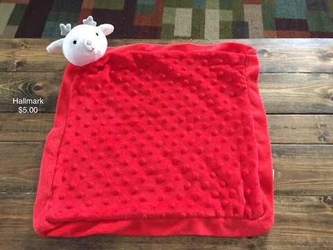 Hallmark Reindeer Security Blanket
