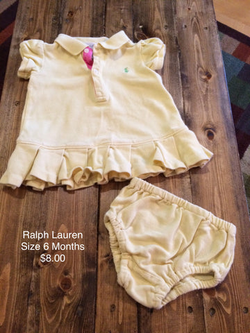 Ralph Lauren Polo Dress with Bloomers