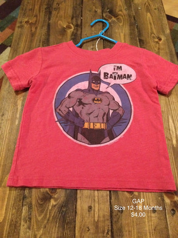 "GAP ""I'm Batman"" T-Shirt"
