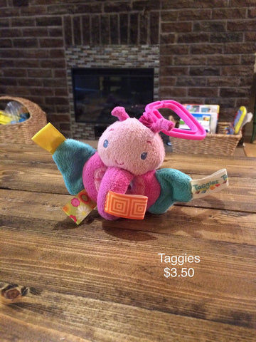 Taggies Butterfly Infant Toy