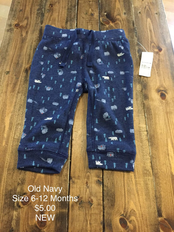 Old Navy Winter Print Pant
