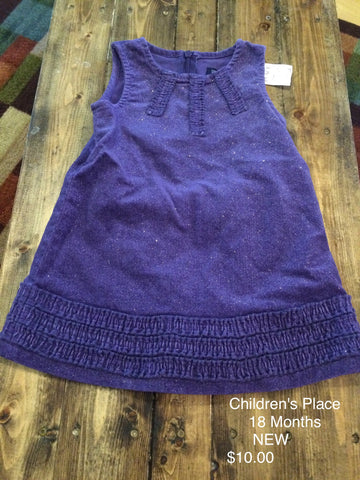 Children's Place Winter Sparkle Dress
