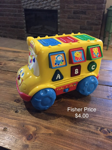 Fisher Price Musical Pop Up Bus