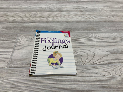 American Girl The Feelings Book Journal