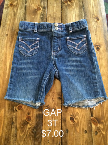 GAP Cut Off Jean Shorts