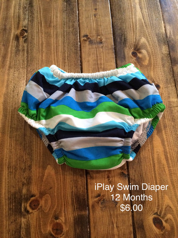 I Play Swim Diaper