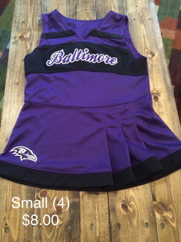 Baltimore Ravens Cheer Uniform