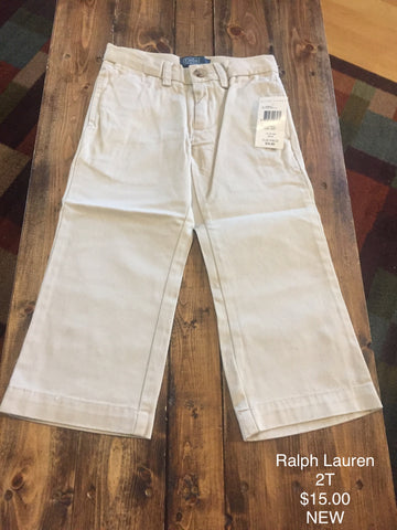 Polo Ralph Lauren Khaki Dress Pant