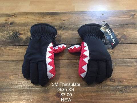 3M Thinsulate Shark Gloves