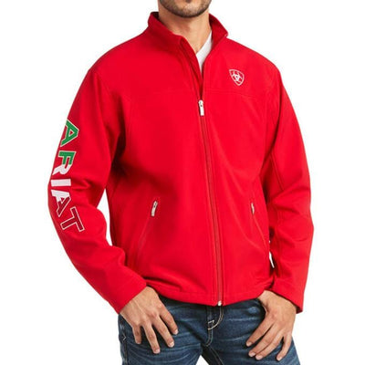 Chamarra New Team Softshell Mexico Roja