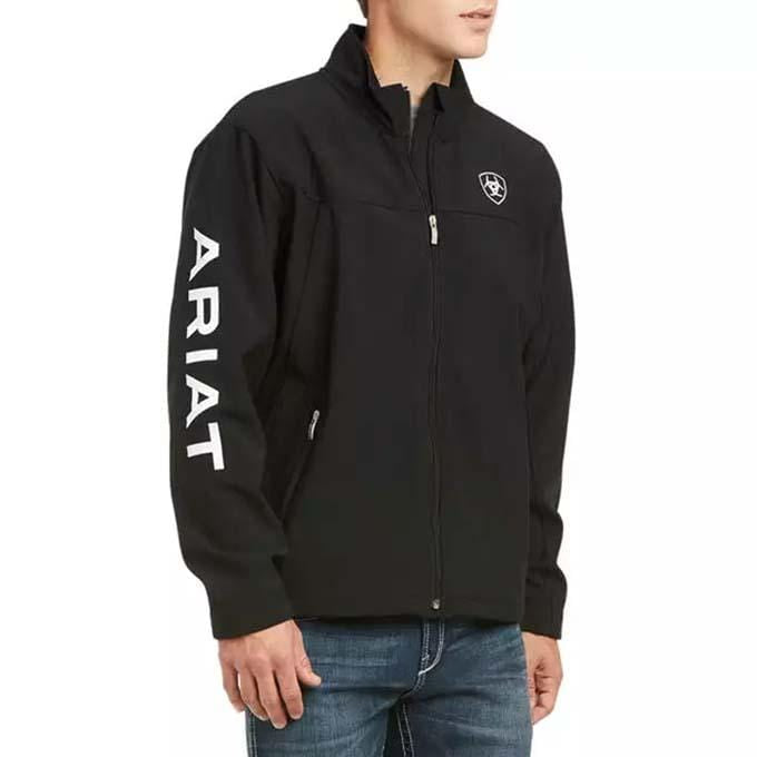 Chamarra New Team Softshell Negra ARIAT