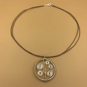 Necklace, Tree of Life, Silver