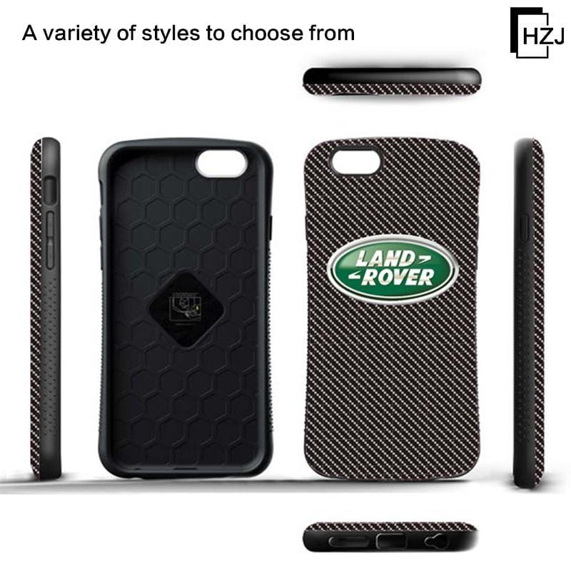 Anti-fall mobile phone shell Apple series car logo protective cover small waist protector for iphone5/5S/6/6S/6/6S plus/7/8/7plus/8plus/iphoneX/XS/XR/XSMAX