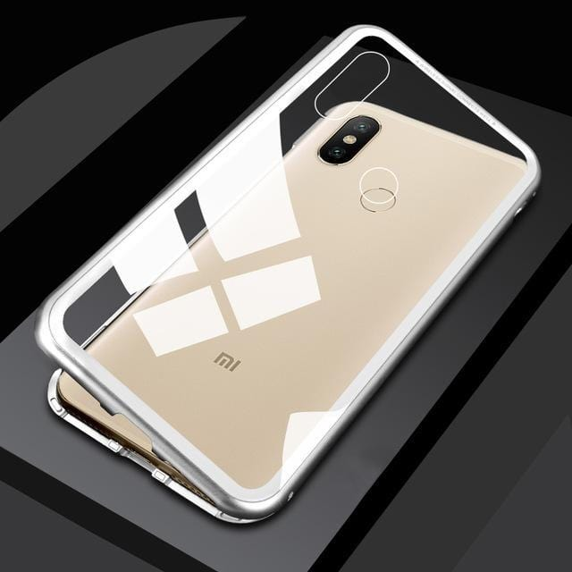 Magnetic Adsorption Metal Phone Case for Xiaomi Redmi 6/Note 7