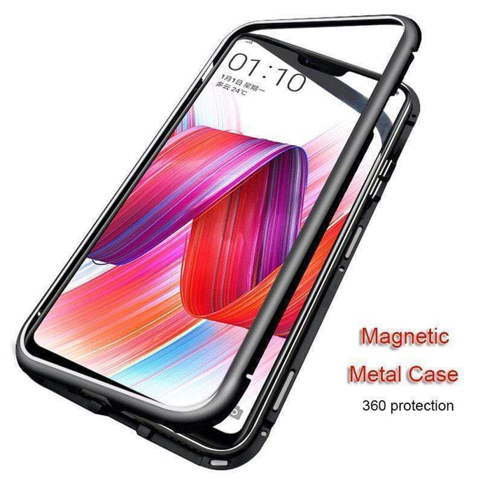 Magnetic Adsorption Flip Phone Case for Oneplus 5T 6/6T