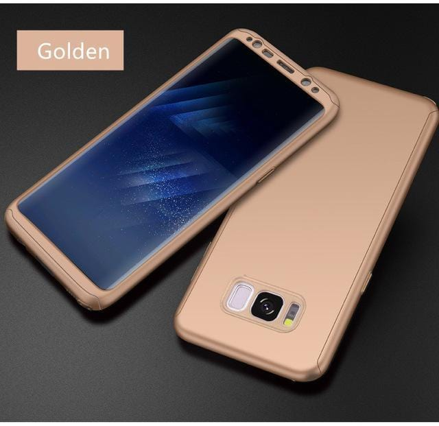 360 Protection Full Cover Frosted surface PC Phone Case For Samsung Note8/Note9