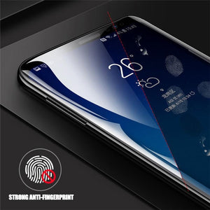 (2/3 pack)10D Full Cover Hydrogel Film For Samsung S8(Plus)/S9(Plus)/S10(e/Plus)/NOTE8/9/A8(Plus) Full Coverage Screen Protector (not glass)