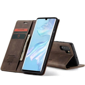 CaseMe Original Leather Wallet Case For Huawei P30Pro