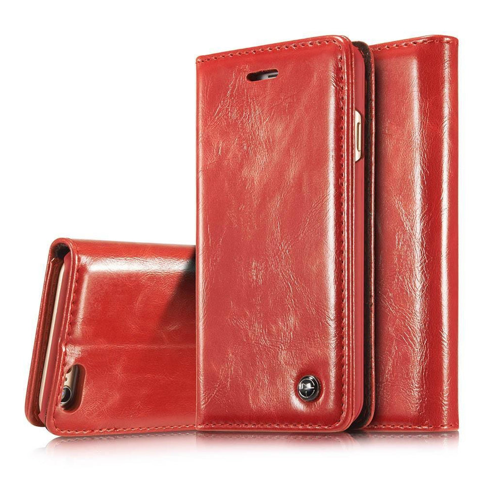 CaseMe iPhone 6 Plus/6s Plus Wallet Stand Magnetic Flip Case