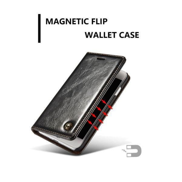 CaseMe iPhone 7/8 Wallet Stand Magnetic Flip Case