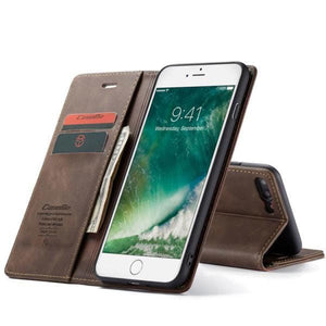 CaseMe Retro Wallet Case For iPhone7Plus/8Plus
