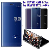 HUAWEI MATE 10 Case Mirror Clear View Smart Windows Cover Flip Leather Stand Case