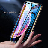 *10D Full Cover Hydrogel Film For iPhone 6/6s/6PLUS/6SPLUS/7/8/7PLUS/8PLUS/X/XS/XR/XS MAX (With Locator Not Tempered Glass )