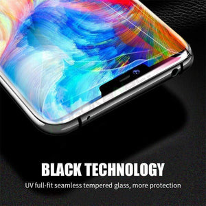 (2/3 pack)UV 10D Full Liquid Glue Screen Protector For Huawei Mate20pro/P30pro (With UV Lamp)