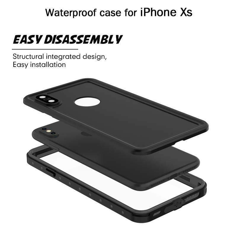 RIP68 Waterproof Full Body Protective Cover for iPhone X/XS /XR /XS Max