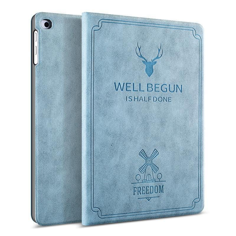 iPad Silicone Soft Case New Tablet Stand PU Leather Magnet Smart Cover Auto Sleep