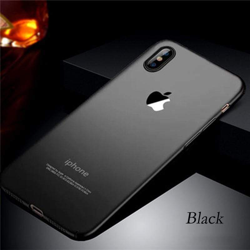 Luxury Suitable for IPHONE Series Matte PC Shell With Logo Shockproof Bumper for iPhone X/XS/XR/XS MAX