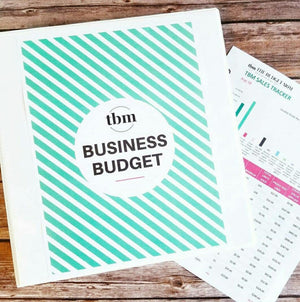 2019 Business Budget Worksheets (Excel)